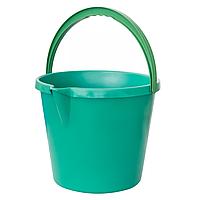 Ведро-лейка пластиковое 7 л, цветное