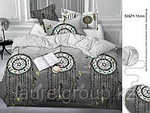 """Постельное бельё """"Сатин Медальон 15 в подарочной упаковке"""" р-р 2,0 сп. Евростандарт"""