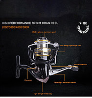 Рыболовная спиннинговая катушка BLACK TENA BT-3000