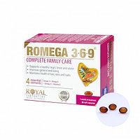 РОМЕГА 3 6 9 капсулы для здоровья всей семьи