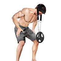 Упряжь для тренировки мышц шеи нейлон (CC02)