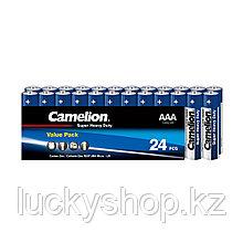 Батарейка CAMELION Super Heavy Duty R03P-SP24B 24 шт. в плёнке