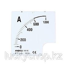Шкала для амперметра ANDELI 150/5