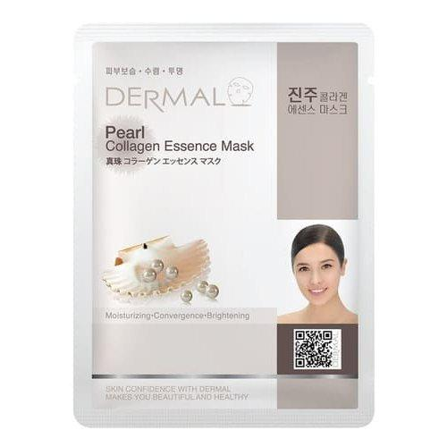 Dermal Тканевая маска на основе жемчужной эссенции и коллагена Pearl Collagen Essence Mask