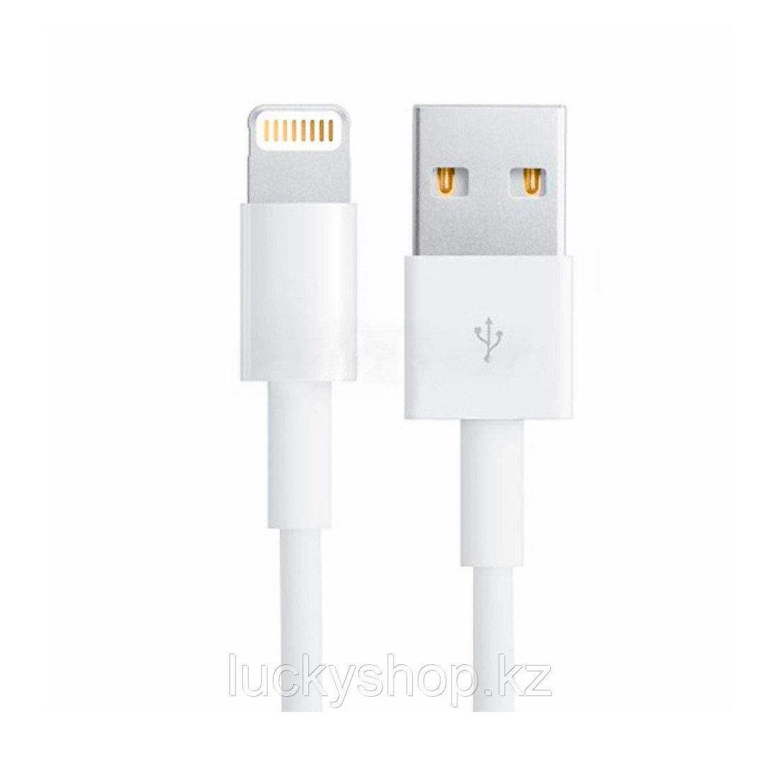 Интерфейсный кабель Xiaomi Lightning Белый - фото 2