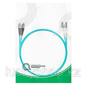 Патч Корд Оптоволоконный FC/UPC-LC/UPC MM OM3 50/125 Duplex 3.0мм 1 м, фото 2