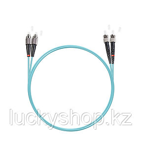 Патч Корд Оптоволоконный FC/UPC-ST/UPC MM OM3 50/125 Duplex 3.0мм 1 м, фото 2