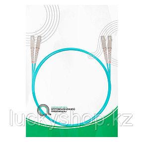 Патч Корд Оптоволоконный SC/UPC-SC/UPC MM OM3 50/125 Duplex 3.0мм 1 м, фото 2