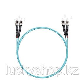 Патч Корд Оптоволоконный ST/UPC-ST/UPC MM OM3 50/125 Duplex 3.0мм 1 м, фото 2