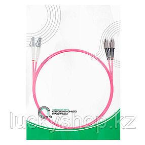 Патч Корд Оптоволоконный FC/UPC-LC/UPC MM OM4 50/125 Duplex 3.0мм 1 м, фото 2