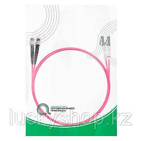 Патч Корд Оптоволоконный LC/UPC-ST/UPC MM OM4 50/125 Duplex 3.0мм 1 м, фото 2
