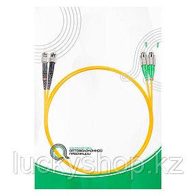Патч Корд Оптоволоконный FC/APC-ST/UPC SM 9/125 Duplex 3.0мм 1 м, фото 2