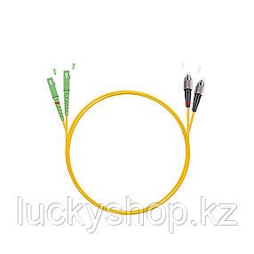 Патч Корд Оптоволоконный SC/APC-FC/UPC SM 9/125 Duplex 3.0мм 1 м, фото 2