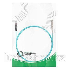Патч Корд Оптоволоконный FC/UPC-SC/UPC MM OM3 50/125 Simplex 3.0мм 1 м, фото 2