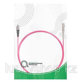 Патч Корд Оптоволоконный FC/UPC-SC/UPC MM OM4 50/125 Simplex 3.0мм 1 м, фото 2