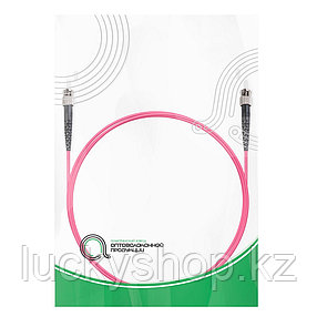 Патч Корд Оптоволоконный ST/UPC-ST/UPC MM OM4 50/125 Simplex 3.0мм 1 м, фото 2
