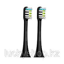 Сменные зубные щетки для Soocas X3U (2шт в комплекте) Чёрный