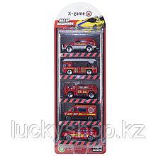 Набор машинок X-Game XGCM5C (5 машинок в уп.)