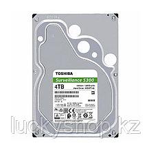 "Жёсткий диск для видеонаблюдения HDD 4Tb Toshiba SATA6Gb/s 5400rpm 128Mb 3,5"" HDWT140UZSVA"