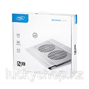 "Охлаждающая подставка для ноутбука Deepcool N8 Silver 17"", фото 2"
