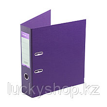 """Папка–регистратор Deluxe с арочным механизмом, Office 3-PE1 (3"""" PURPLE), А4, 70 мм, фиолетовый"""