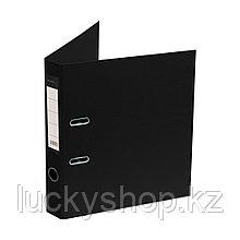 """Папка–регистратор Deluxe с арочным механизмом, Office 2-BK19 (2"""" BLACK), А4, 50 мм, чёрный"""