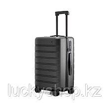 """Чемодан NINETYGO manhatton luggage-zipper 20"""" Черный"""