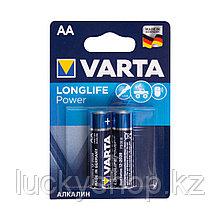 Батарейка VARTA Longlife Power Mignon 1.5V - LR6/AA 2 шт в блистере