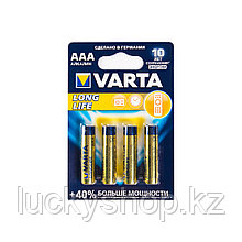 Батарейка VARTA Longlife Micro 1.5V - LR03/ AAA (4 шт)