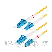 Патч Корд Оптоволоконный LC/UPC-LC/UPC SM 9/125 Duplex 3.0мм 1 м