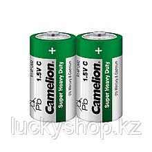 Батарейка CAMELION Super Heavy Duty R14P-SP2G 2 шт. в плёнке