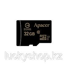 Карта памяти Apacer AP32GMCSH10U1-R 32GB + адаптер