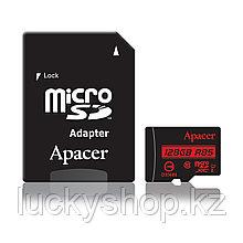Карта памяти Apacer AP128GMCSX10U5-R 128GB + адаптер