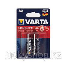 Батарейка VARTA Longlife Power Max Mignon 1.5V - LR6/AA 2 шт в блистере