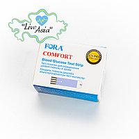 Тест-полоски для глюкометра Fora Comfort