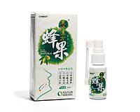 + Натуральный китайский спрей  для горла Олива. В составе 17 натуральных ингредиентов.