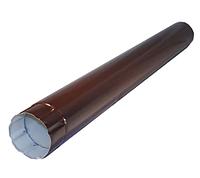 Труба водосточная круглая Ø100 мм, 3000 мм 0,5 двусторонний RAL 8017 Коричневый