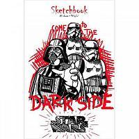 Бизнес блокнот SketchBook Hatber Premium 80л А6 - Звездные войны
