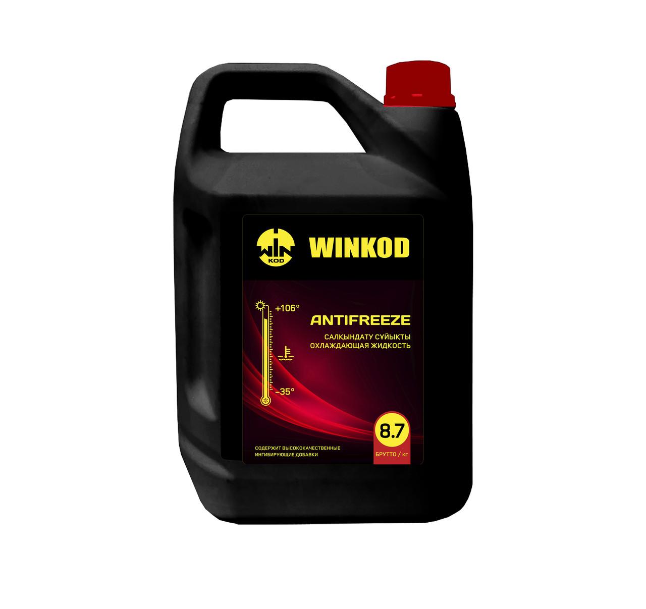 Антифриз WINKOD 8,7кг (-35) красный