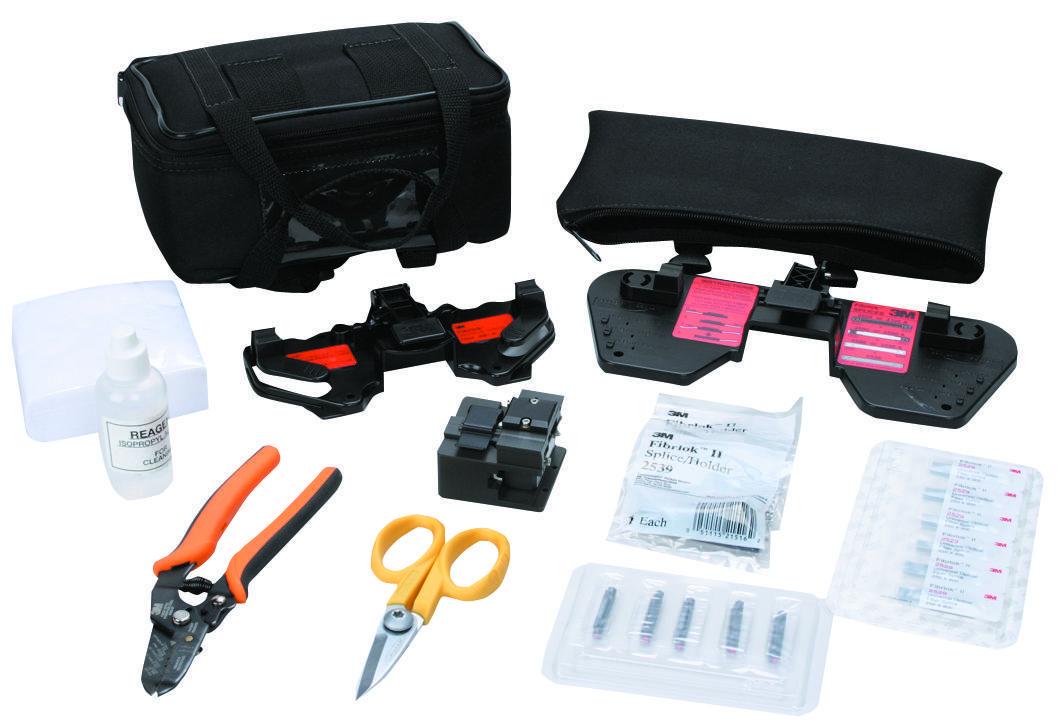 3M 2559-С — набор для монтажа механических соединителей Fibrlok™ (со скалывателем)