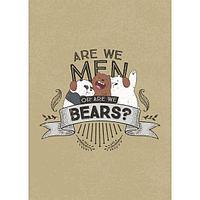 Бизнес-Блокнот 64л Hatber А6 Are we Men or are we Bears?