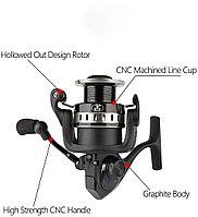 Рыболовная спиннинговая катушка для ловли карпа WPE HKU-3000