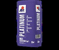 Смесь сухая шпатлевочная гипсовая ALIT Platinum  Гипс 2 в 1 25 кг
