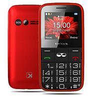Мобильный телефон Texet TM-B227 красный