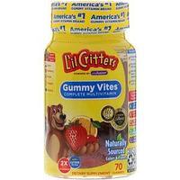 L'il Critters, Gummy Vites, полноценный мультивитаминный комплекс, 70 жевательных конфет