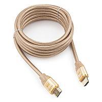 Кабель HDMI Cablexpert  серия Gold  3 м  v1.4  M/M