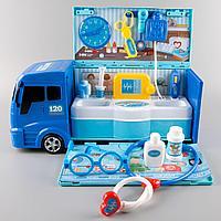Игровой набор грузовик Доктор 21 предмет