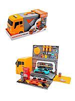 Игровой набор грузовик автосервис с инструментами