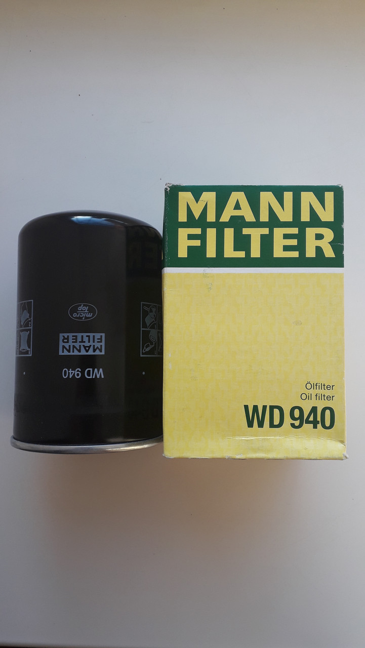 Фильтр Масляный WD940 Mann Filter
