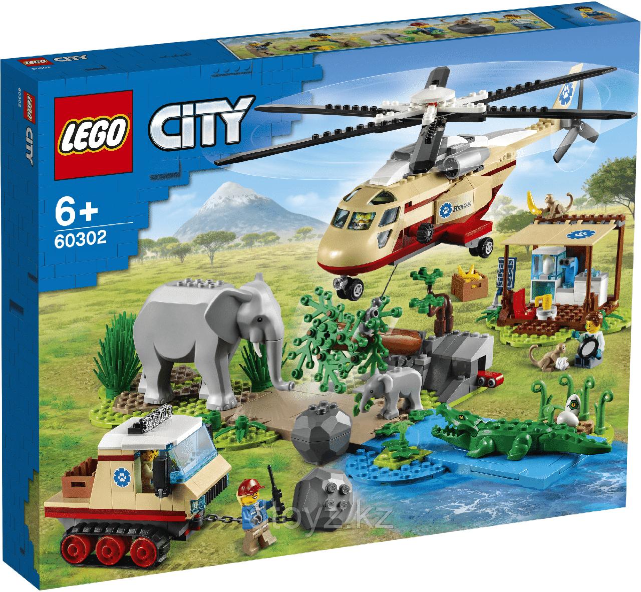 Lego City Wildlife Операция по спасению зверей 60302